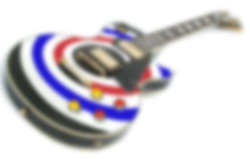 カーリング風ギター