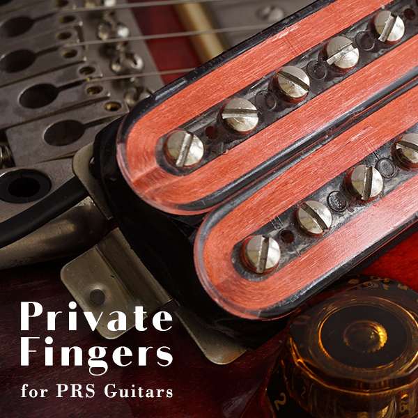 PRS用ピックアップ Private Fingers