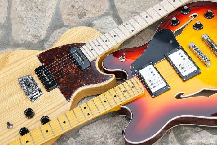 お互いに尊敬しあうフェンダーとギブソンのギター