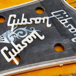 ギブソンのヴィンテージ・ロゴと突き板の変遷