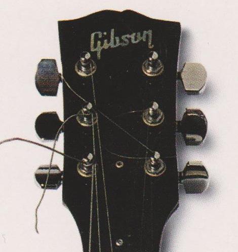 ジェフ・ベックのギターのヘッドストック