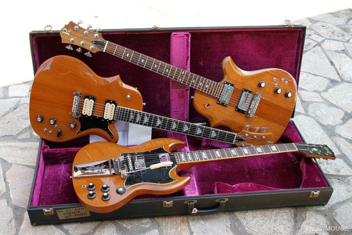 Gibson SGとB.C. Rich Seagull
