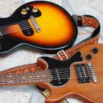 英国製ゴードンスミス・ギターとメロディーメーカー