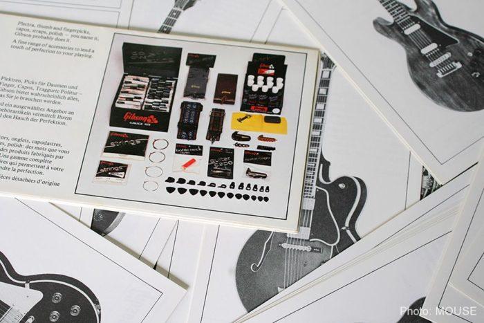 ギブソンのパーツやギターの資料