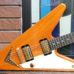リバース・フライングV – 変形ギタートリオの復刻