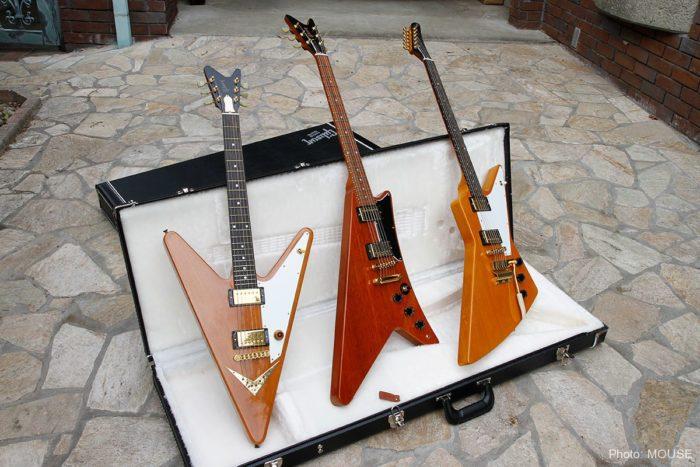 ギブソンの変形ギター