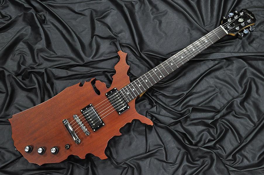 エピフォン製のマップギター