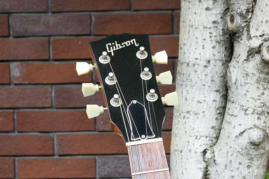 マップギターのヘッドストックのロゴ