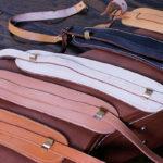 ギブソン純正の革製ギターストラップ