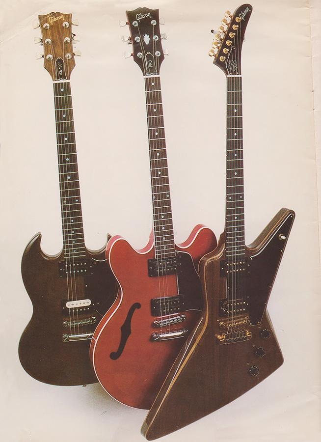 ダーティーフィンガーズが搭載されたギター