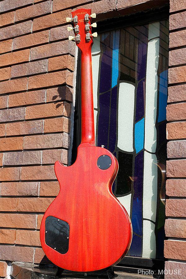 Faded Les Paulのマホガニー