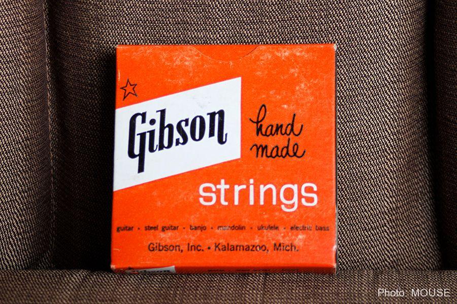 スターリング・ギブソンロゴのギター弦