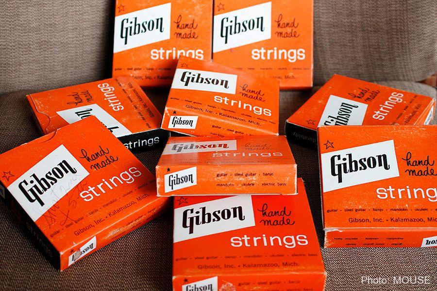 美しく統一されたギブソンのパッケージ