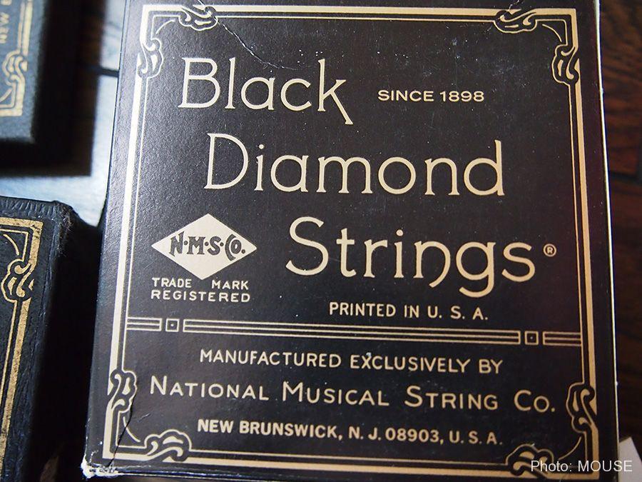 Black Diamond Stringsのギター弦