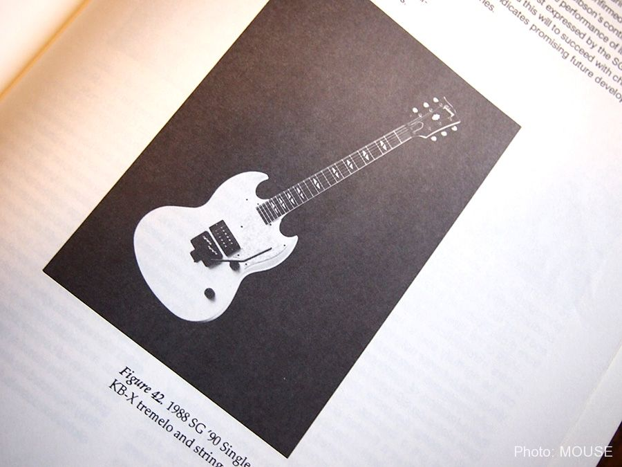 Gibson SG-90が掲載された記事