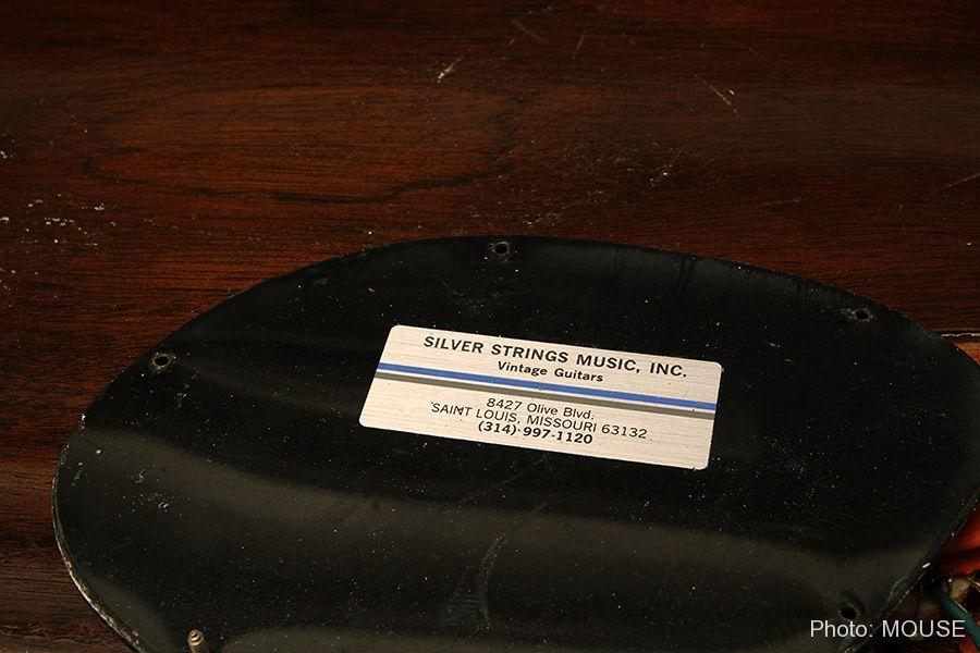 当時のギターショップのステッカー