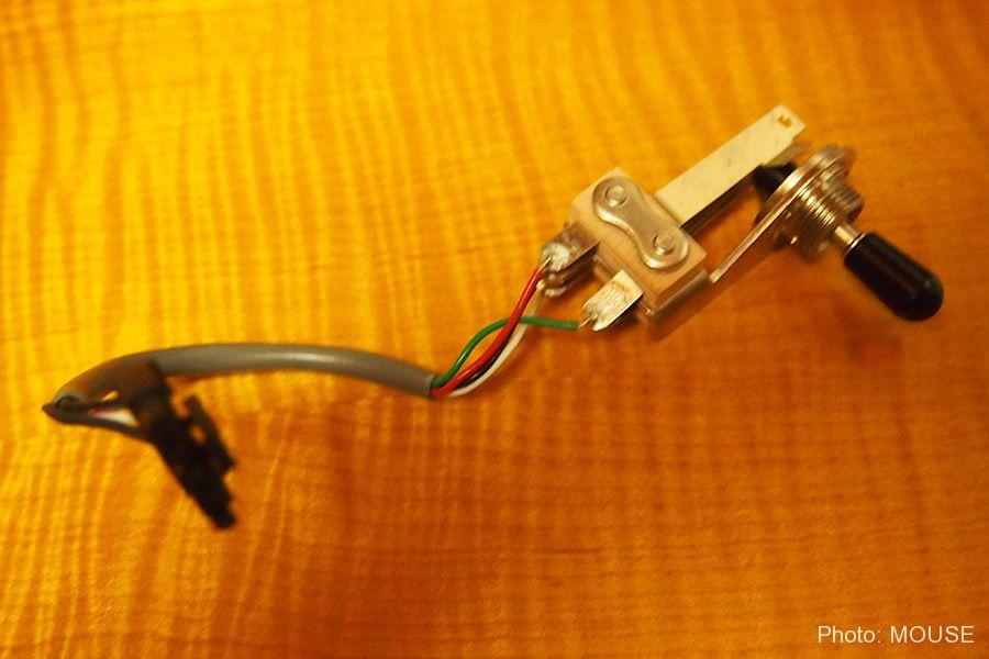 クイックコネクト対応のトグルスイッチ