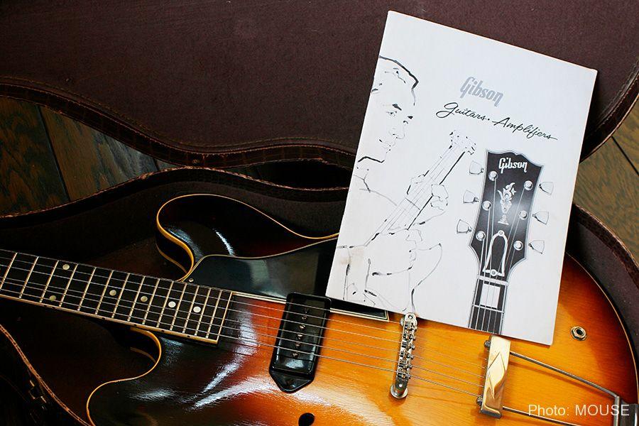 Gibson ES-330と当時のカタログ