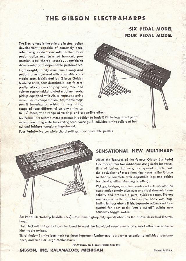 ギブソンのエレクトリック・ハープ