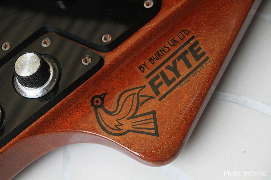 フライトギターのロゴ