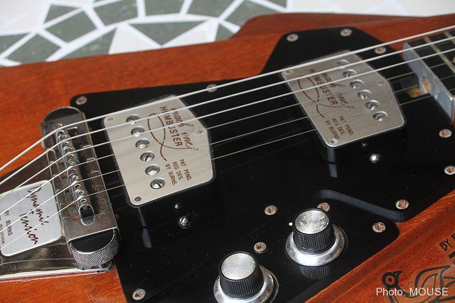 フライトギター専用に作られたピックアップ