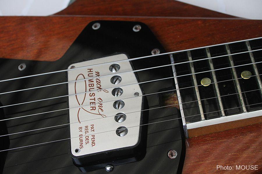 特許出願されたフライトギターのピックアップ