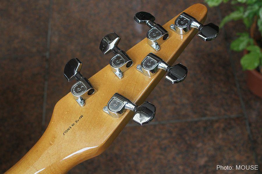 フライトギターのヘッドストック