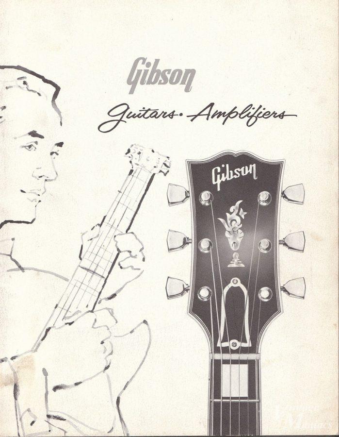 1960年のギブソン・カタログの表紙