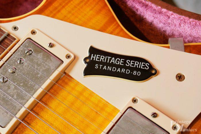 Heritage Series Standard-80のトラスロッドカバー