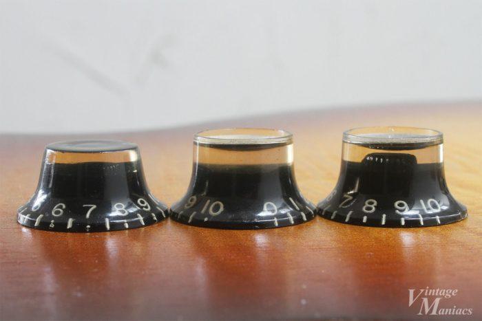 ブラックノブのシャフトのスリット比較