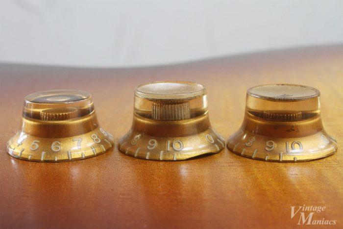 ゴールドノブのシャフト溝の比較