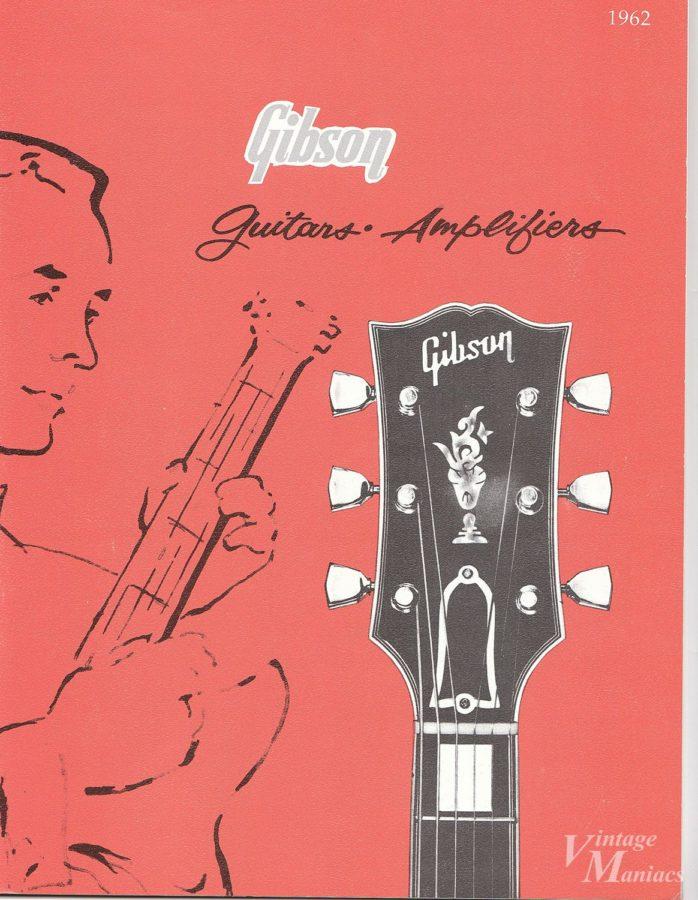 1961年のギブソンのカタログの表紙
