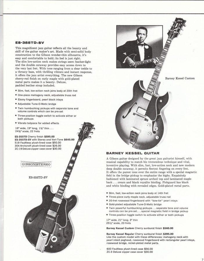 Barney KesselとES-355TD-SV
