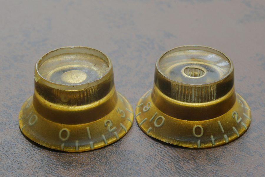トップハットノブとは金型が違うリフレクターノブ