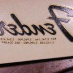 フェンダーのロゴデカール – Meyercord社製デッドストックの逸品