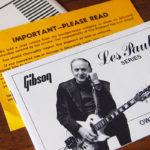 ギブソン・ギターのオーナーズマニュアル