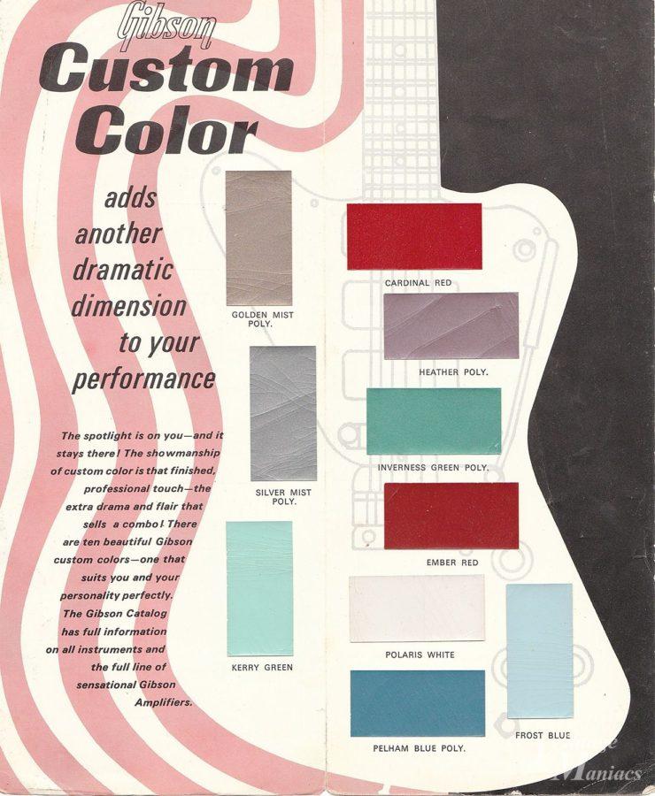 ファイヤーバードのカラーチャート