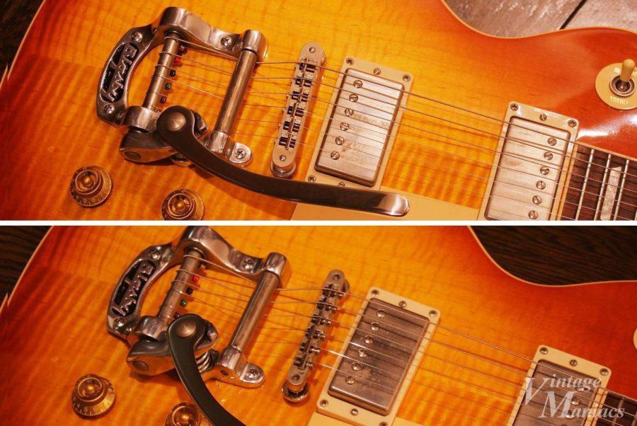 ブリッジによってギター全体の印象が大きく変わる