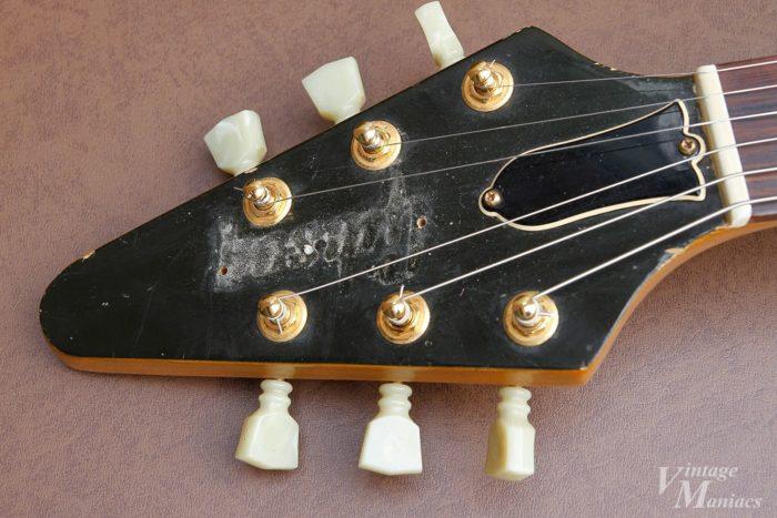 埃はヴィンテージギターの大事な要素