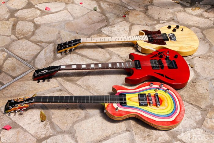 フロント・ピックアップにP-90が搭載されたギブソンのギター3種