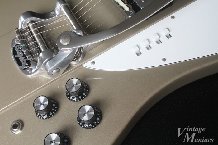 特徴的なエリオット・イーストン・モデルのスイッチ