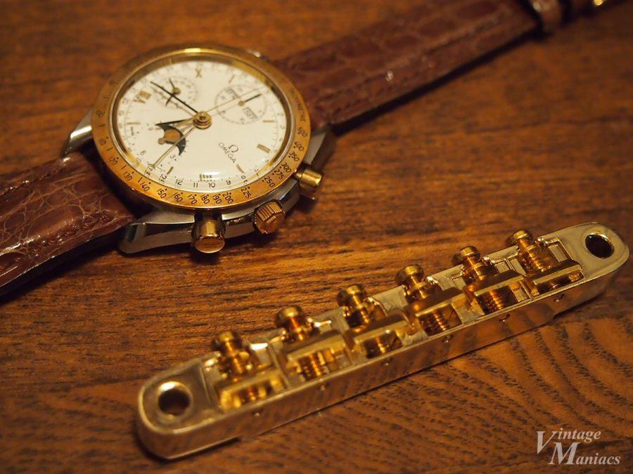 ヴィンテージのゴールドABR-1と腕時計
