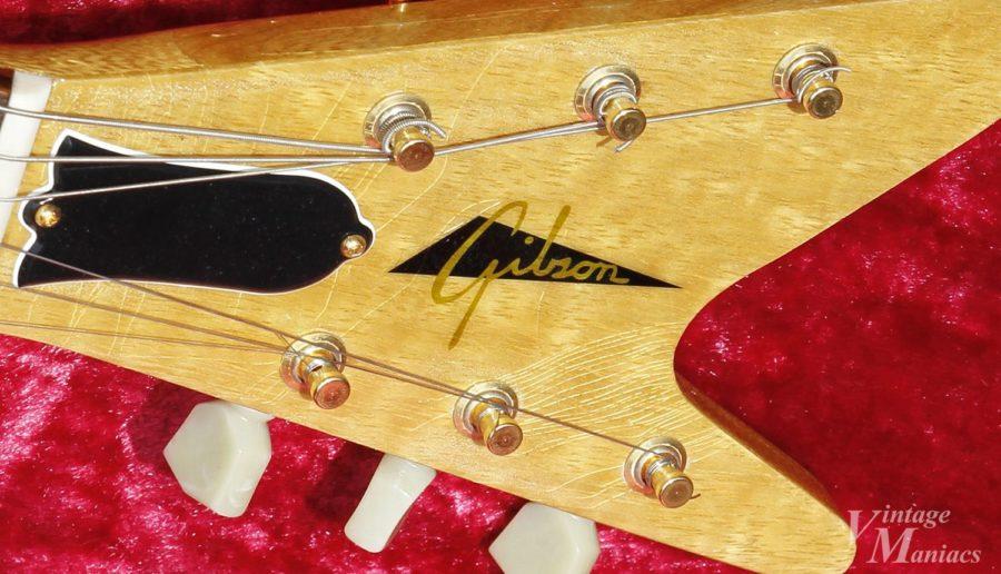ヘンテコな筆記体のGibsonロゴ