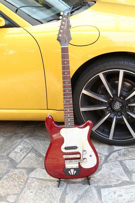 エピフォンのギターにもエボニーブロックを搭載