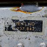Patナンバーステッカーの復刻 – ギブソンのナンバードPAF