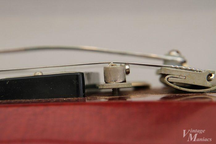 シェイブド・ボトムのABR-1を搭載したギター