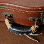 ギターケースの革製の取っ手 – 50年代ヴィンテージ・ハンドル
