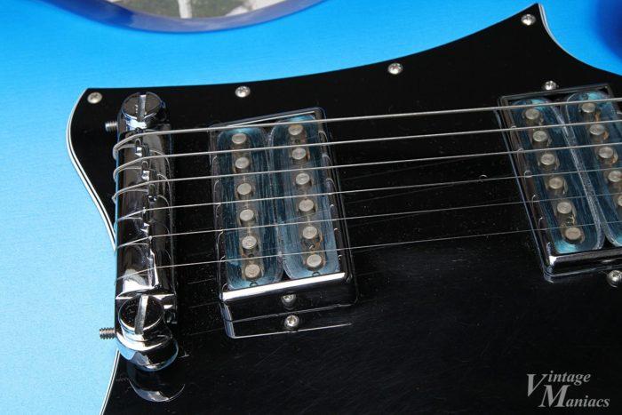 Gibson SG Goddessのコンビネーションブリッジ
