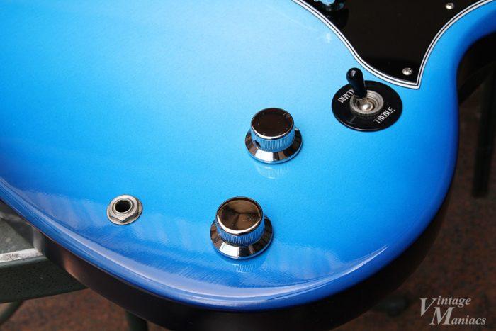Gibson SG Goddessのコントロール部分