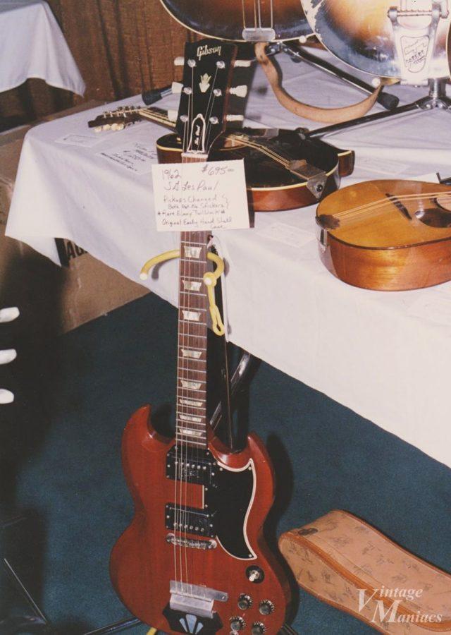 当時のギターショーでは値付けも適当